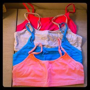 Victoria's Secret PINK Bandeaus Sz L